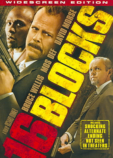 16 BLOCKS BY WILLIS,BRUCE (DVD)